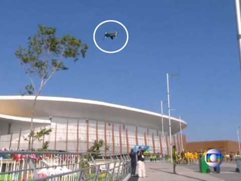 Watch: Giant TV camera plummets to the ground at Rio Olympics injuring spectators