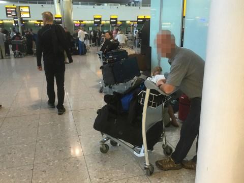 David Beckham's ex-bodyguard is sleeping rough inside Heathrow Airport
