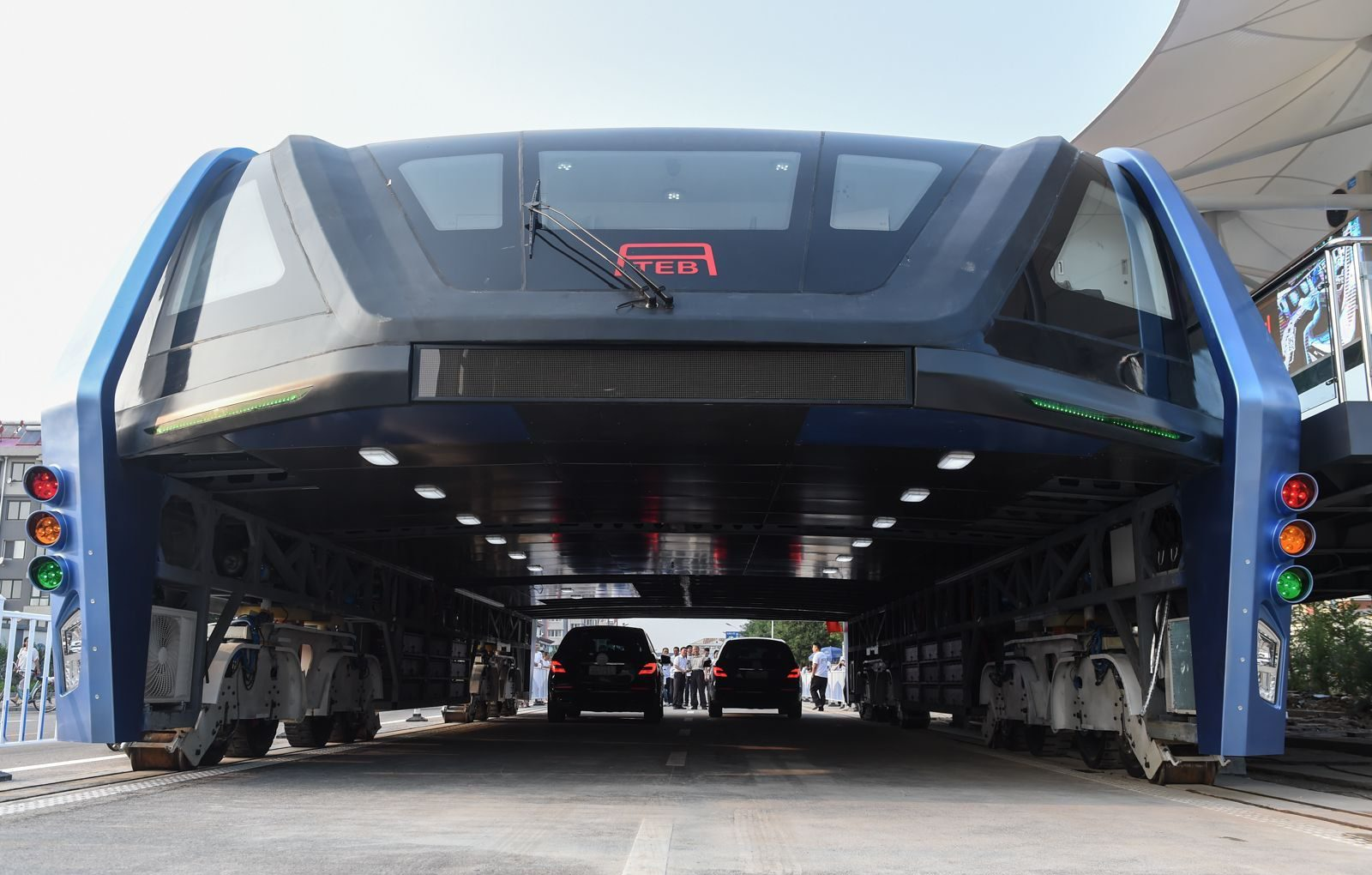 China's elevated road bus may have been a scam after all