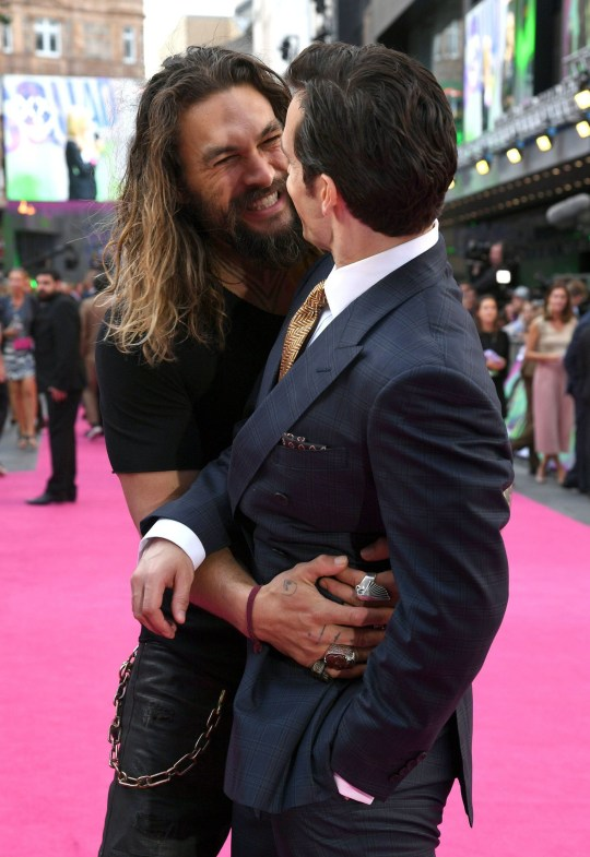Jason Momoa Was The Cutest Jellybean At The Suicide Squad