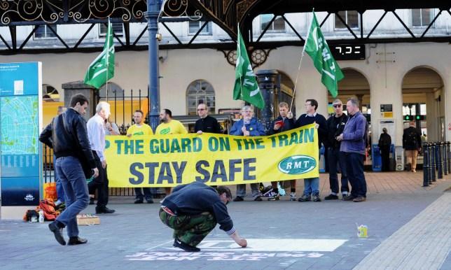 Southern Rail strike starts