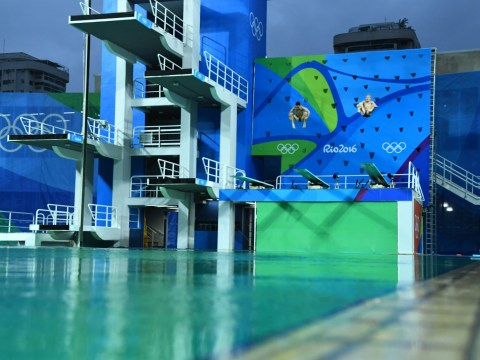 Finally, Rio organisers have figured out why the pools at the Olympics turned green