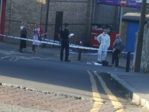 Man 'had throat slit and was stabbed repeatedly' in front of families in Kent