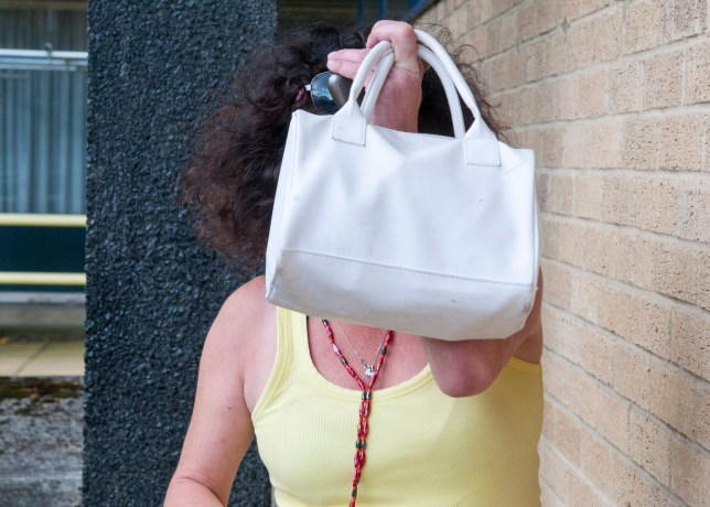 FILE PHOTO; Anita Jane Hare outside North Devon Magistrates Court. Two women have appeared in court for having oral sex and masturbating - in PUBLIC. See SWNS story SWOUTRAGE. Frisky duo Anita Jane Hare and Martina Loosemore both admitted outraging public decency by performing the sex acts in full view of shocked bystanders. Loosemore, 30, appeared shaky and sobbed throughout the short hearing on Friday while her co-defendant Hare, 45, remained composed throughout as the charge was read to them. They stood together in the dock, while North Devon Magistrates Court heard how they had engaged in oral sex and masturbation in a public place, on July 25.