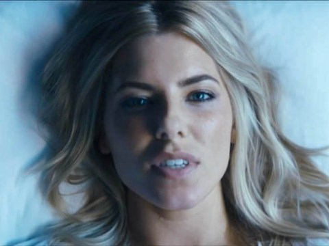 Mollie King is a long way from The Saturdays in raunchy video for debut single Back To You