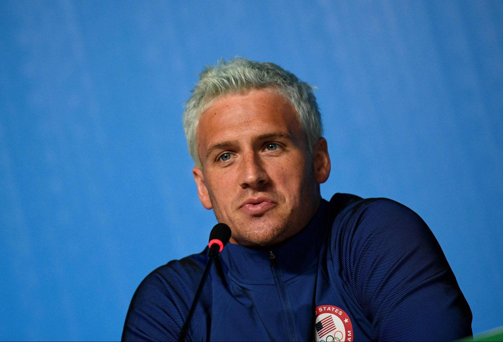 Ryan Lochte charged with making fake police statement