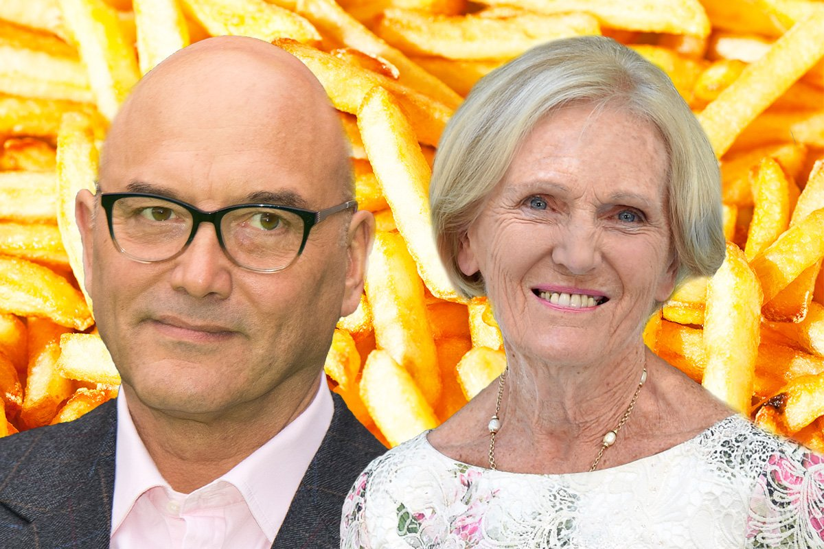Gregg Wallace starts food fight with Mary Berry over her deep-fat fryer diss
