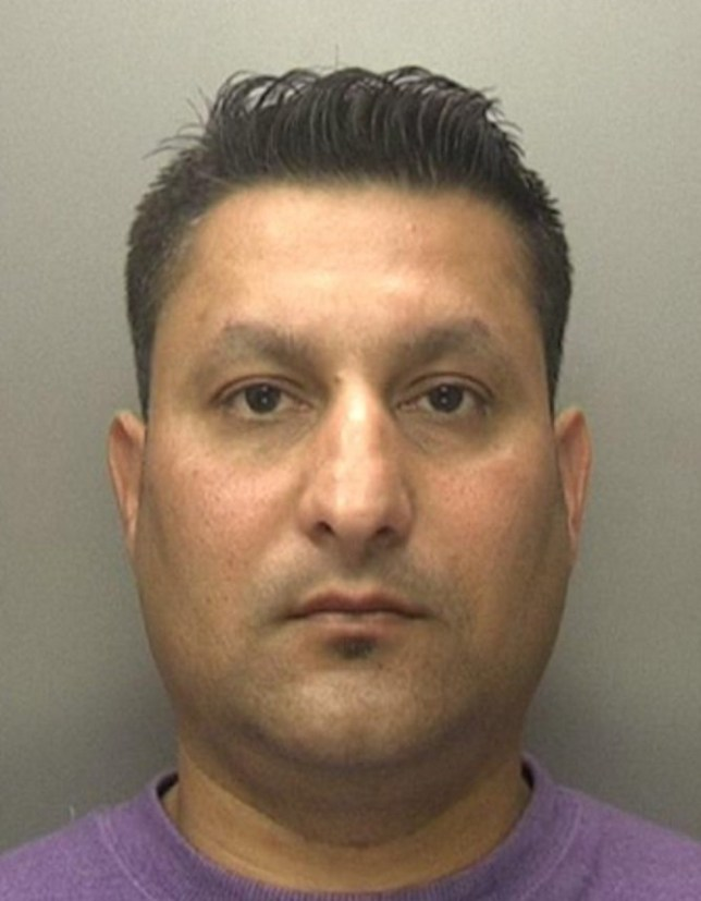 "Sheraz Shafi a thief who snatched a woman's handbag at knife point has been jailed after he was recognised as a WAITER at a nearby restaurant. See News team story NTIWAITER; Sheraz Shafi, 42, jumped into the back seat of the shopper's Range Rover at Stechford Retail Park in Birmingham on April 27 this year. A court heard he shouted ""you're gonna get hurt, do what I say"" as he threatened her with a kitchen knife. The victim fled screaming for help as Shafi grabbed her handbag which contained an iPhone, £400 in cash and valuable Asian gold jewellery. Detectives managed to seize CCTV from a nearby plant hire firm showing Shafi carrying the woman's handbag. The images were circulate on social media which quickly prompted a flurry of callsf rom locals who recognised him as a waiter at a restaurant two miles away in Washwood Heath, Birmingham."