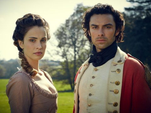 Aidan's Maidens to the rescue! Poldark fans defend Turner after 'flipping out' claim