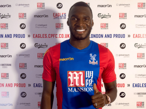 Christian Benteke apologises for Burnley Twitter gaffe and confirms he's joined Crystal Palace