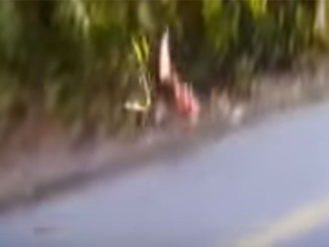 Watch: Dutch rider suffers terrifying crash on steep descent in road race at Rio Olympics