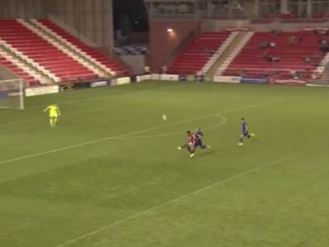 Watch: Manchester United wonderkid Demi Mitchell scores incredible goal for reserves