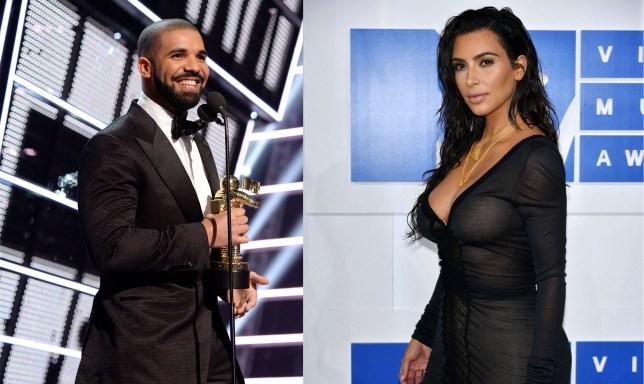 Drake and Kim (Picture: Getty/Rex)