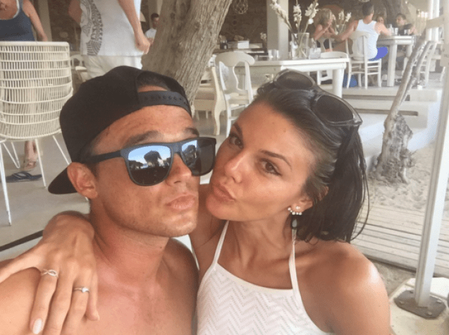 Gareth Gates has been soaking up the sun on the continent (Picture: Gareth Gates/Twitter)