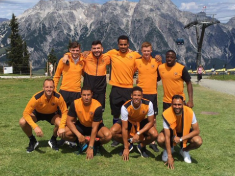 Hull City's Curtis Davies jokes about squad situation