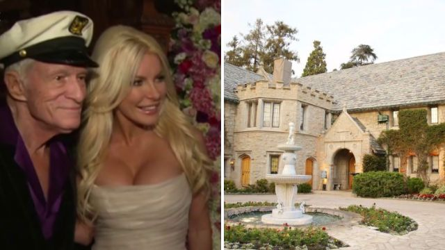 Hugh Hefner's Playboy mansion has officially been sold for $10million