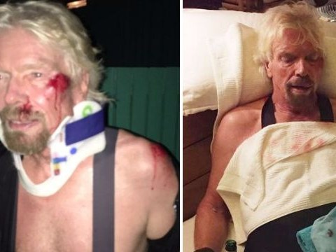 Sir Richard Branson almost dies in high-speed bike crash