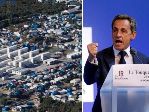 Calais 'Jungle' camp should move to Britain, according to Nicolas Sarkozy