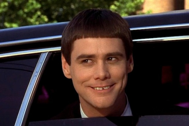 (Picture: Universal) Jim Carrey in Dumb and Dumber To