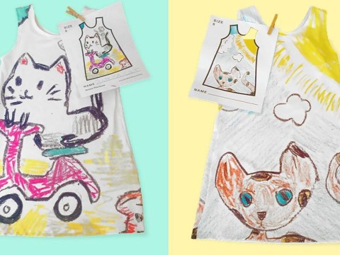 This company will turn your kids' drawings into clothes they can wear