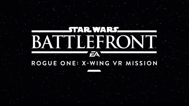 There are no official screenshots, so the rest of these images are just from the E3 teaser and the ordinary Battlefront game