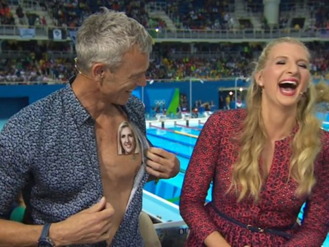 Mark Foster mocks those Rebecca Adlington flirting stories in epic fashion