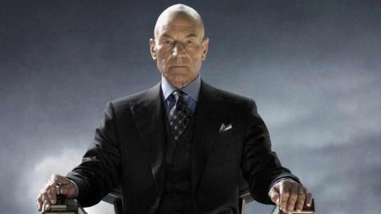 Professor X talks Professor X to Fox [Picture: Fox]