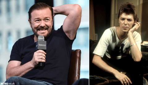 Ricky Gervais sent his David Brent tracks to David Bowie and he 'loved it'