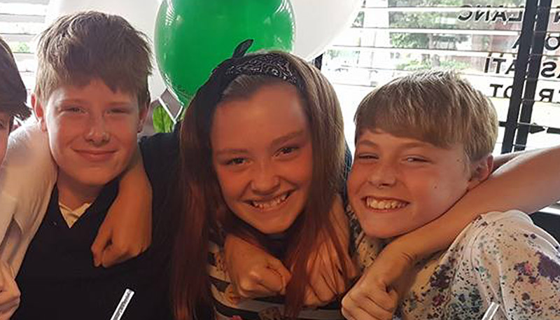 Three children and mum killed in A34 horror pile-up Credit: Facebook