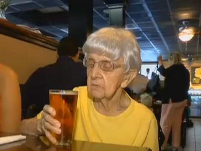 Woman, 102, credits a nice cold pint every day for her longevity