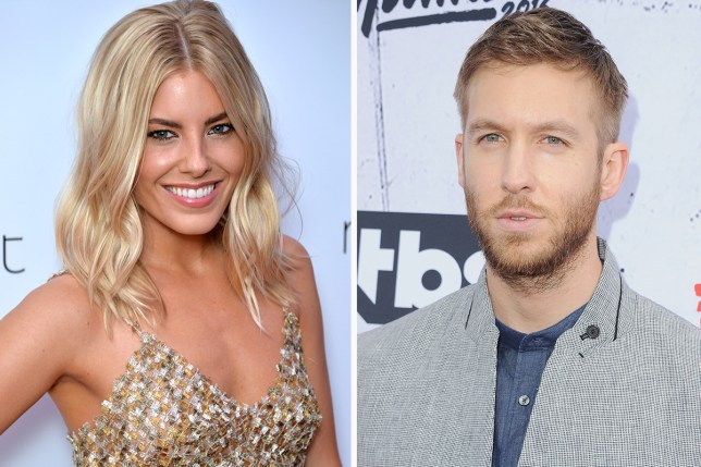 Cover your ears Olly Murs, Mollie King has a crush on Calvin Harris