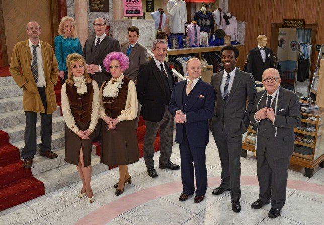 Here's the cast of the Are You Being Served remake