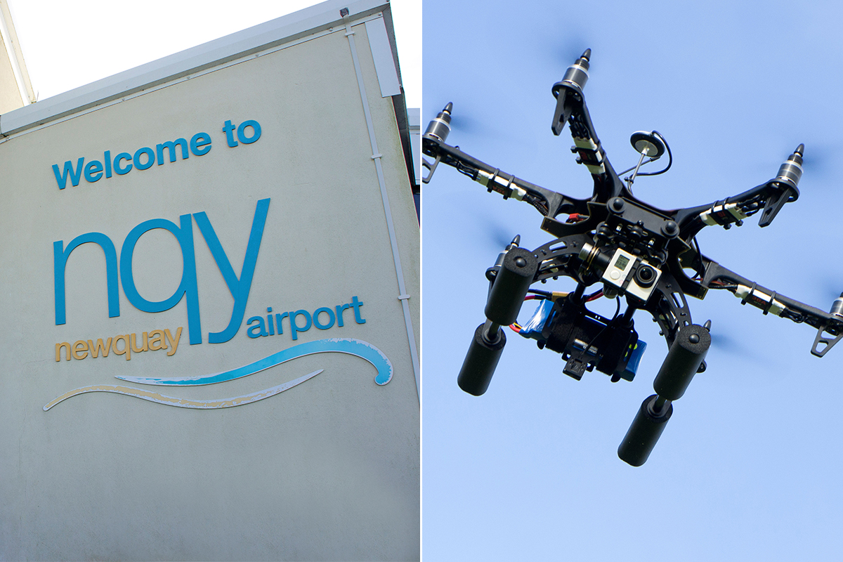 Police investigate after 'near-miss' between drone and plane with 62 passengers