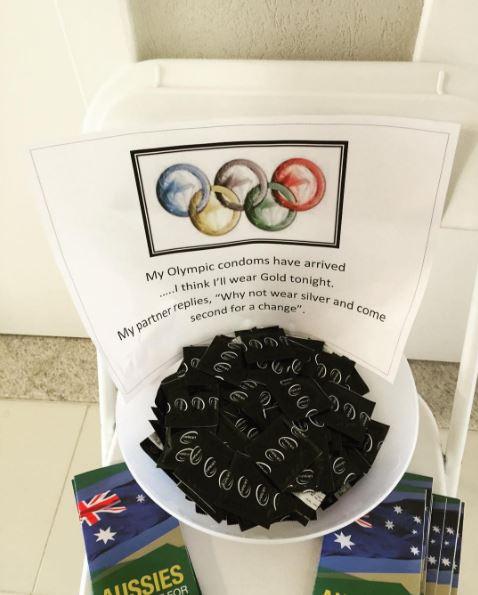 Best Olympics condom pun