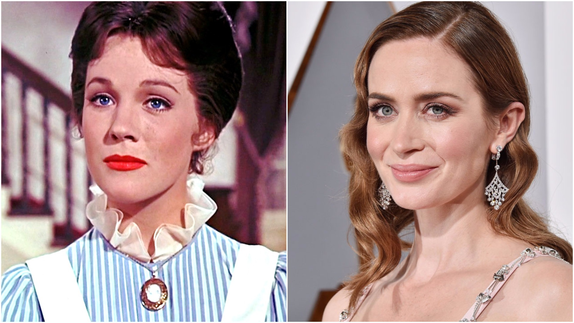 Julie Andrews has finally had her say on Emily Blunt playing Mary Poppins