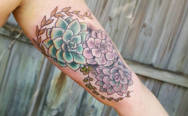 plant themed nature tattoos