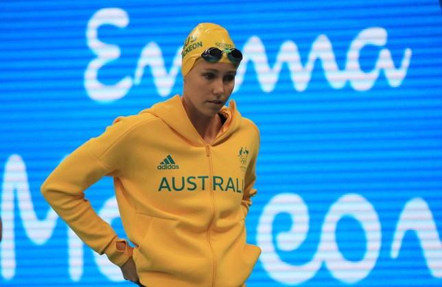 2016 Rio Olympics - Swimming - Final - Women's 200m Freestyle Final - Olympic Aquatics Stadium - Rio de Janeiro, Brazil - 09/08/2016. Emma McKeon (AUS) of Australia competes.  REUTERS/Dominic Ebenbichler FOR EDITORIAL USE ONLY. NOT FOR SALE FOR MARKETING OR ADVERTISING CAMPAIGNS.   - RTSM8VM