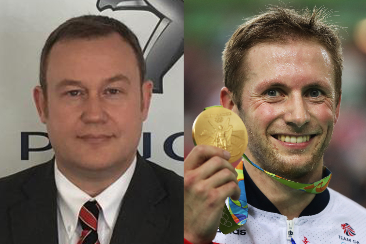 Car salesman Jason Kenny inundated with Twitter messages after Olympian's wins