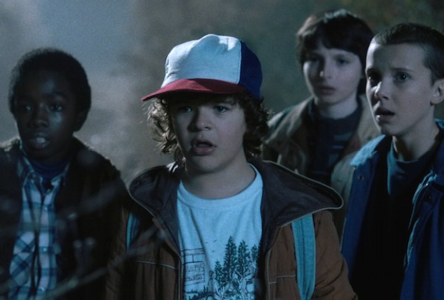Stranger Things is one of the most-talked about shows of the summer (Picture: Netflix)