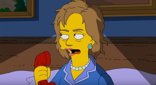 the-simpsons-hillary-clinton