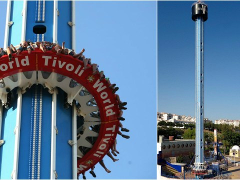 Vertical funfair ride plummets when brakes fail injuring 12