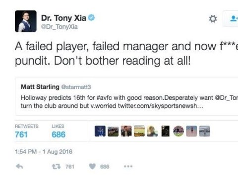 Aston Villa owner tears into 'failed player, manager and pundit' Ian Holloway over harsh pre-season prediction