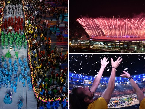 In pictures: Rio's stunning Olympic opening ceremony
