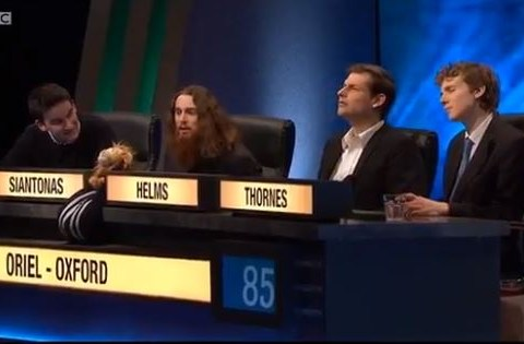 University Challenge viewers are outraged by Oxford team's spectacular pop music fail