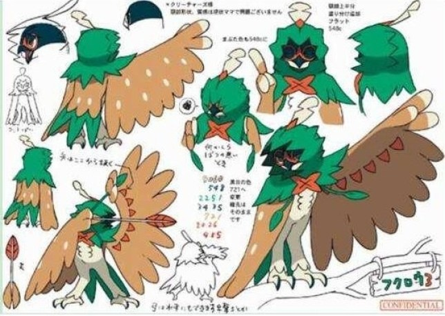 Rolet's final form looks pretty cool