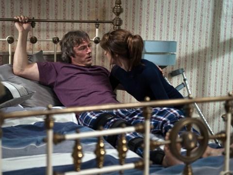 Emmerdale spoilers: Hostage horror! Crazed Emma Barton to kill James in 'Misery' twist?