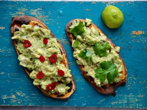 Make this sweet potato toast recipe for your lunch today