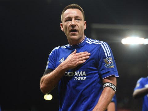 Pedro starts but John Terry benched for Chelsea's clash with Leicester City