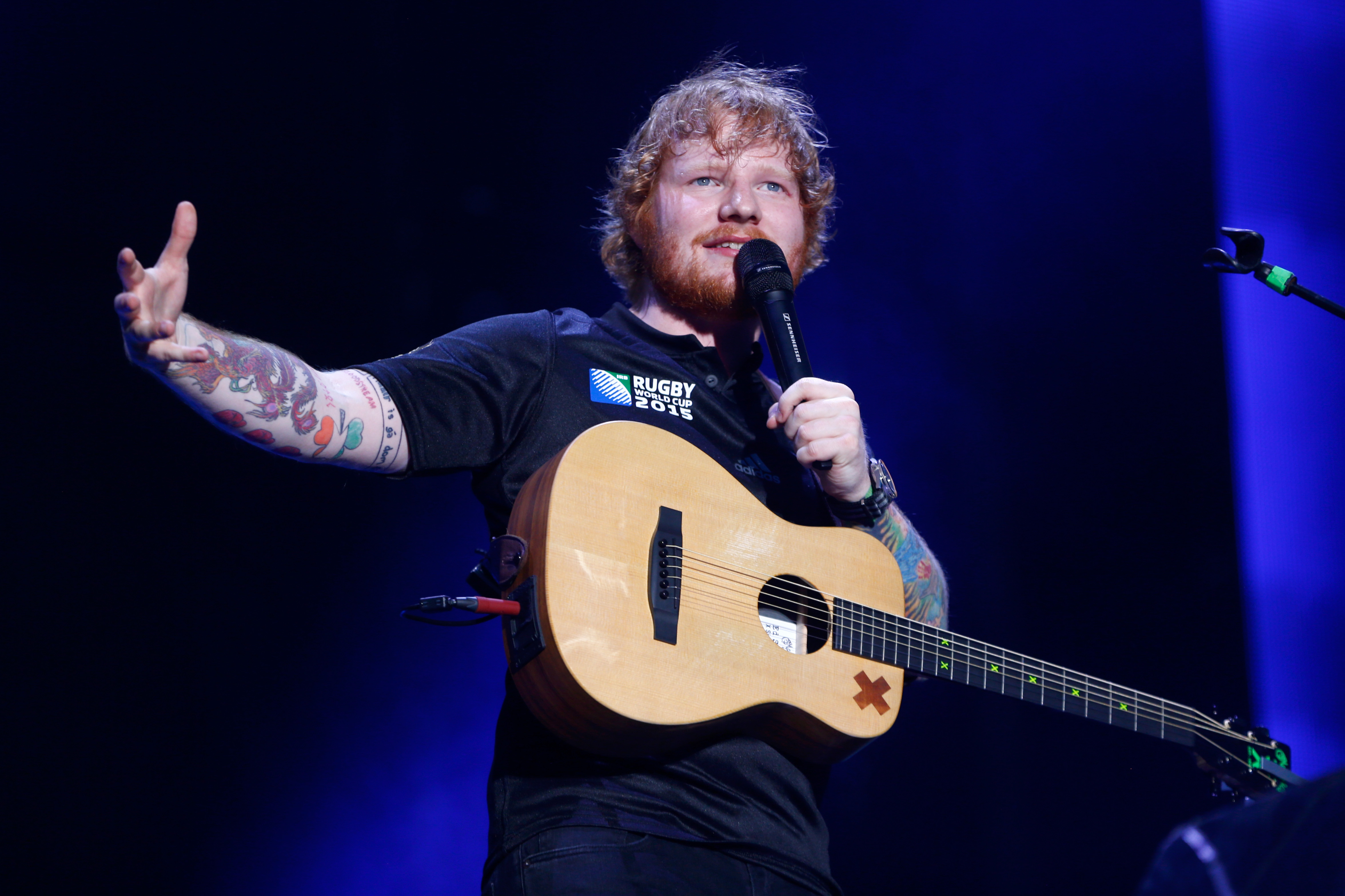 Ed Sheeran responds to 'scandalous allegations' of $20m lawsuit that claims he ripped off Matt Cardle's single Amazing