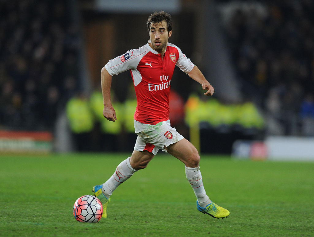 Crystal Palace eyeing shock deal for former Arsenal midfielder Mathieu Flamini